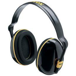 uvex Kapsel-Gehörschutz K200, schwarz/ocker