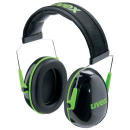 uvex Kapsel-Gehörschutz K1, schwarz / grün