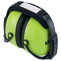 uvex Kapsel-Gehörschutz K2, faltbar, neongrün