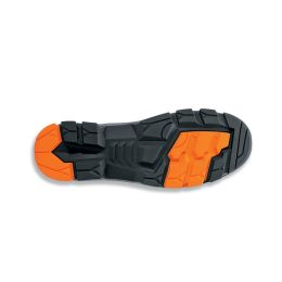 uvex 2 Schnürstiefel S3 SRC, Gr. 45, schwarz/orange
