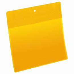 DURABLE Neodym-Magnettasche, DIN A5 quer, gelb