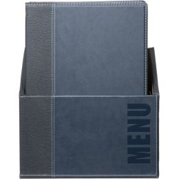 Securit Speisekarten-Mappe TRENDY, A4, 20er Box, blau