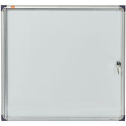nobo Schaukasten, extraflach, Metall-Rückwand, 6 x DIN A4