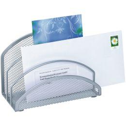 WEDO Briefständer Office, aus Drahtmetall, silber