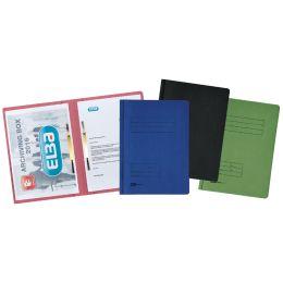 ELBA Doppelhefter, DIN A4, Manilakarton - 320 g/qm, blau