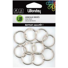 Wonday Verbindungsringe, Durchmesser: 30 mm, aus Metall