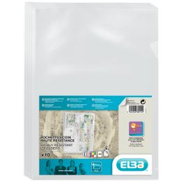 ELBA Sichthüllen, transparent, DIN A4, aus PVC, farblos