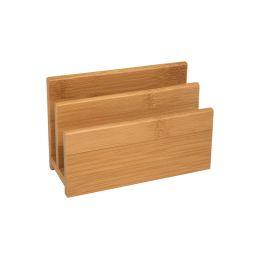WEDO Briefständer, aus Bambus, 2 Fächer
