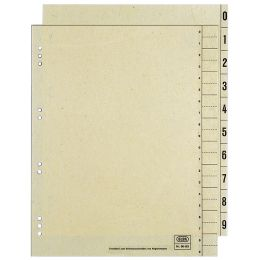 ELBA Trennblätter, 2-seitig bedruckt, chamois, 240 x 300 mm