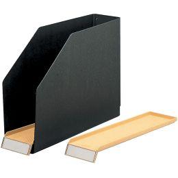 ELBA Kassetten, aus Hartpappe, schwarz