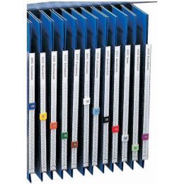 ELBA Organisationsstreifen für Pendelsichtleiste, blanko