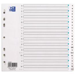 ELBA Tauenpapier-Register, A-Z, DIN A4, 24-teilig, teild.