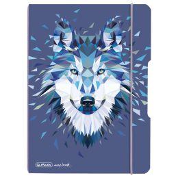 herlitz Notizheft my.book flex Wild Animals Wolf, A5