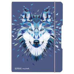 herlitz Notizheft my.book flex Wild Animals Wolf, A5