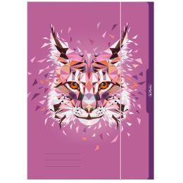 herlitz Zeichnungsmappe Wild Animals Luchs, DIN A3