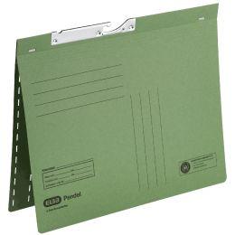 ELBA Zweifalz-Pendelhefter, DIN A4, Manilakarton, grün