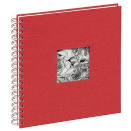 PAGNA Foto-Spiralalbum Passepartout, rot