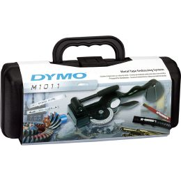 DYMO Metallschriftpräger RHINO M1011, schwarz