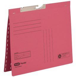 ELBA Zweifalz-Pendelhefter, DIN A4, Manilakarton, rot