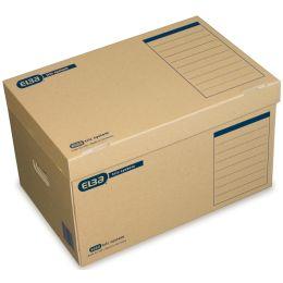 ELBA Archiv-Container tric System, mit Deckel, naturbraun