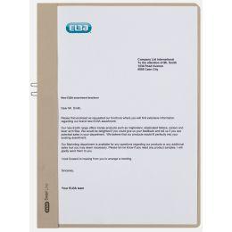 ELBA Klemmhandmappe, DIN A4, ohne Vorderdeckel, grau