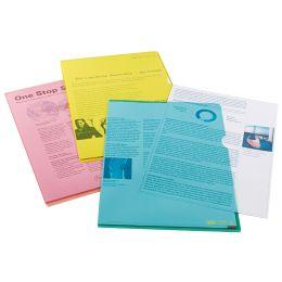 ELBA Sichthülle Premium, DIN A4, PVC, glasklar, grün, 25er