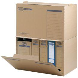 ELBA Archiv-Container tric System, naturbraun