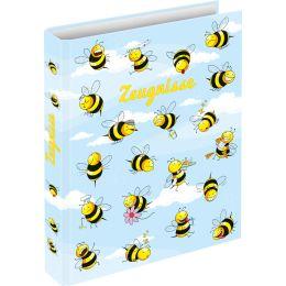 RNK Verlag Zeugnisringbuch Crazy Bees, DIN A4