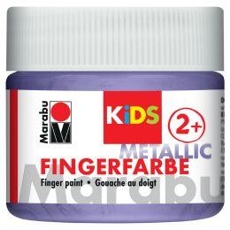 Marabu KiDS Fingerfarbe, 100 ml, metallic-violett 750