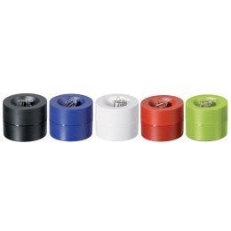 MAUL Klammernspender MAULpro, rund, Durchmesser: 73 mm, blau