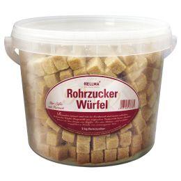 HELLMA Rohrzucker-Würfel, im Eimer