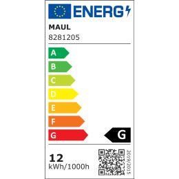 MAUL Energiespar-Leuchte MAULatlantic, Standfuß, weiß