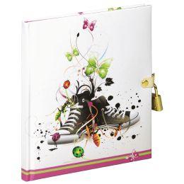 PAGNA Tagebuch Chucks, 80 g/qm, 64 Blatt