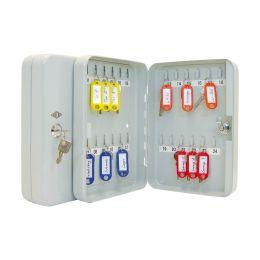 WEDO Schlüsselschrank für 70 Schlüssel, lichtgrau