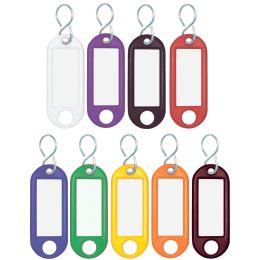 WEDO Schlüsselanhänger S-Haken, blau, Kleinpackung