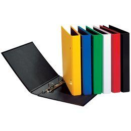PAGNA Ringbuch Basic Colours, 2 Bügel-Mechanik, schwarz