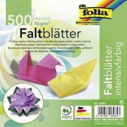 folia Faltblätter, 150 x 150 mm, 70 g/qm, 500 Blatt