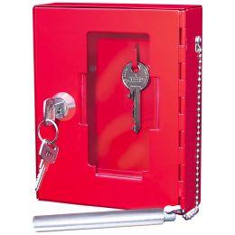 WEDO Notschlüssel-Kasten, Farbe: rot
