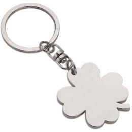 WEDO Schlüsselanhänger Kleeblatt, aus Metall
