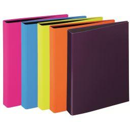 PAGNA Ringbuch Trend Colours, 2-Bügel-Mechanik, sortiert