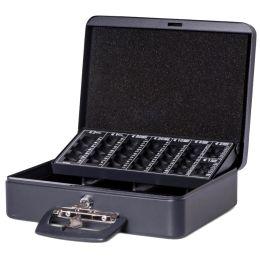 MAUL Geldkassette mit Zähleinsatz, schwarz