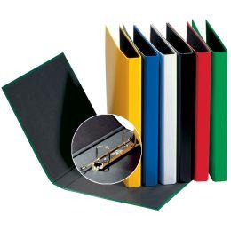 PAGNA Ringbuch Basic Colours, 2 Bügel-Mechanik, weiß
