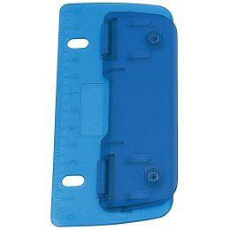 WEDO Taschenlocher, Stanzleistung: 3 Blatt, ICE blau