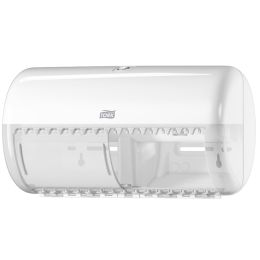 TORK Toilettenpapier-Spender, für Kleinrollen, weiß