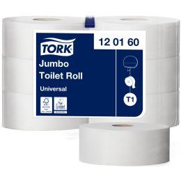 TORK Großrollen-Toilettenpapier Jumbo, 1-lagig, natur, 480 m