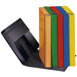 PAGNA Heftbox Basic Colours, DIN A4, schwarz