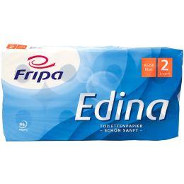 Fripa Toilettenpapier Edina, 2-lagig, hochweiá