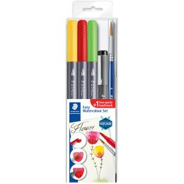 STAEDTLER Aquarell-Set Easy Watercolour Blume