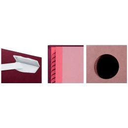 PAGNA Unterschriftenmappe DE LUXE, DIN A4, 10 Fächer, rot