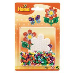 Hama Bügelperlen midi Streifenperlen - Blume, im Blister
